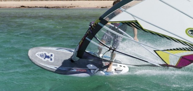 Starboard Futura 141 2012 action