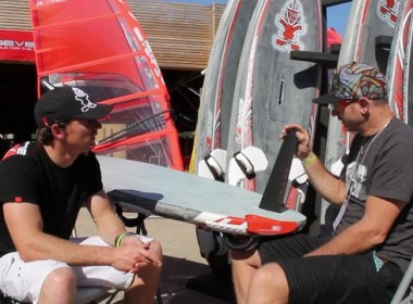 ISONIC SLALOM FINS WITH REMI VILA