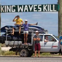 The crew on the road Australia1055