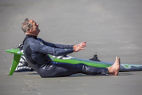 If you can't get anywhere near your toes to the point where your back is pointing backwards, then you should think of doing something about it!