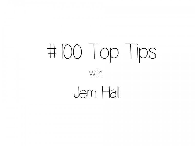 JEM HALL TOP 100 WINDSURFING TIPS