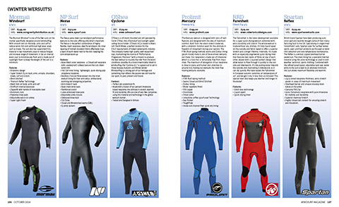 106-107 WS340 Wetsuits
