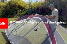 MAUISAILS SCREAM RIGGING GUIDE – NO CAM FREERIDE SAIL