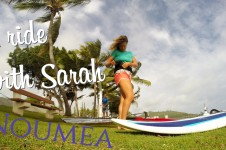 A RIDE WITH SARAH IN NOUMEA