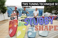 TWS – STUBBY WINDSURF SHAPES DISCUSSED