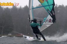 WINDSURFING ON LAKE SUPERIOR – XTREME COLLXTION