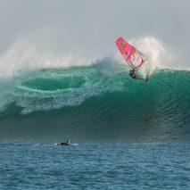 Jason Polakow windsurf in Rote Island, Indonesia on June 6, 2017
