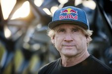 Robby Naish poses for a portrait at Hangar-7, Salzburg, Austria on January 24, 2018. // Lukas Pilz/Red Bull Content Pool // AP-1UKS8JURS2111 // Usage for editorial use only // Please go to www.redbullcontentpool.com for further information. //