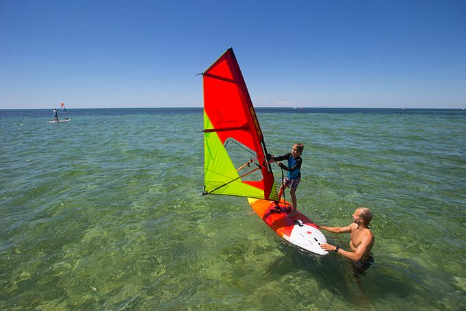 Where to learn windsurfing