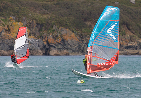 Coverack Windsurfing 01 480px.