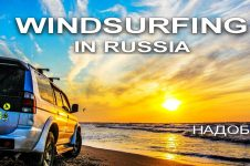 THE MOST AMAZING PLACE IN AZOV SEA, RUSSIAN WINDSURFING