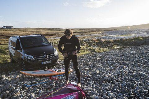 Dare The World - Leon Jamaer auf der Insel Lewis, Schottland.