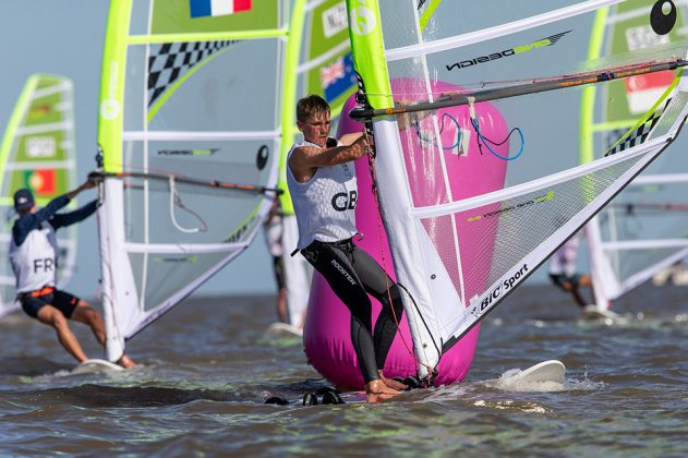 2018 Buenos Aires Youth Olympic Games.   Five sailing events with 100 sailors from 44 different nations are taking place at Club N·utico San Isidro, Argentine including Girl's and Boy's Kiteboarding (Twin Tip Racing) and the Mixed Multihull (Nacra 15). Elsewhere, Girl's and Boy's Windsurfing (Techno 293+) are returning for its third consecutive Games from 6 to 18 October 2018. © Matias Capizzano / World Sailing