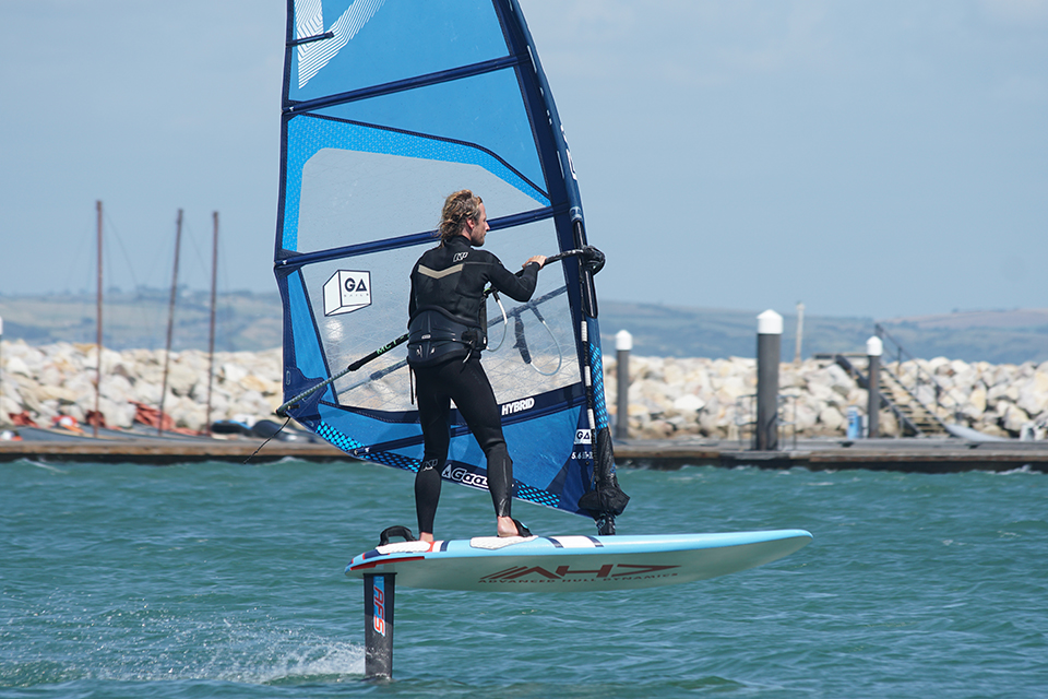 AFS W85 FOIL AND AHD TOPAZ 127 BOARD 2019 TEST REVIEW