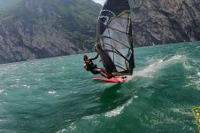 TATY FRANS WINDSURFING ON POINT7 HOME SPOT