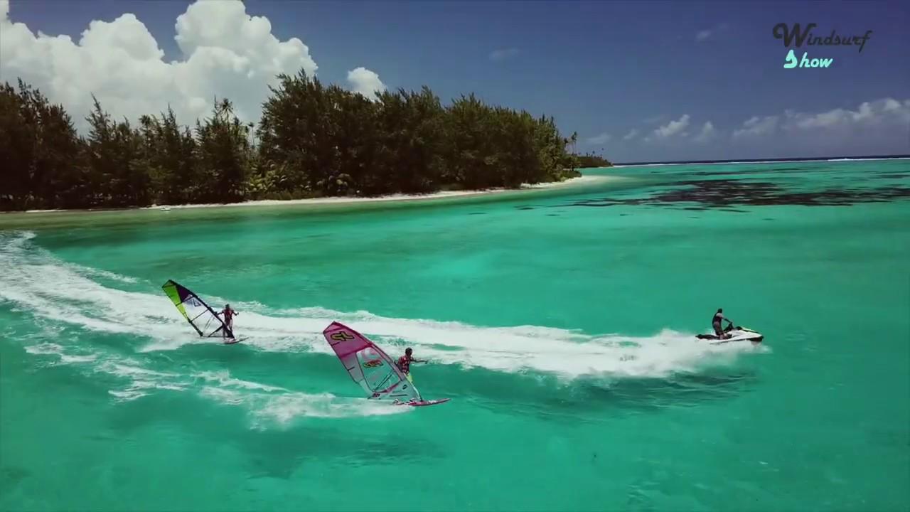 TAHITI DUO | SAM ESTEVE & JULIEN MAS | Windsurf Magazine