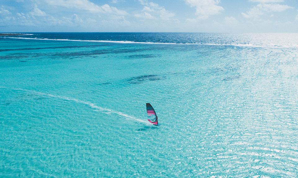 Planet Caribbean Lac Bay Lagoon