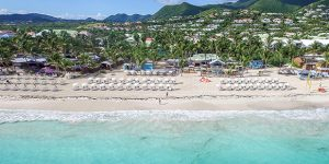 La Playa, Orient Bay in Saint Martin