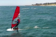 FREERIDE FOILING VIDEO FROM W.A.