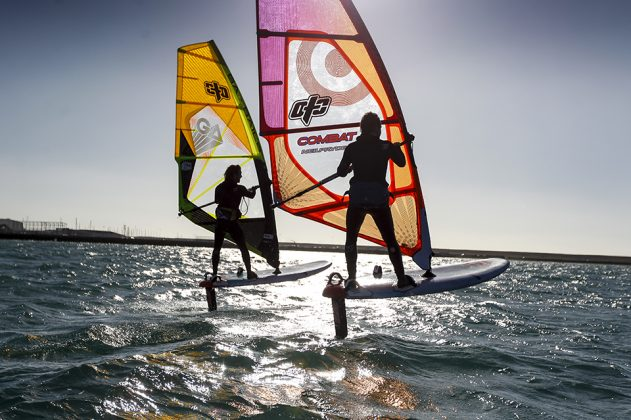 Wind foiling at the OTC.