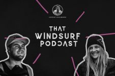 THAT WINDSURFING PODCAST: WITH CLAIRE ELLIOT AND SANDY CLUNAS