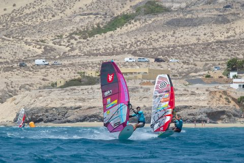 Click to Enlarge - Arnon racing in the Canary Islands