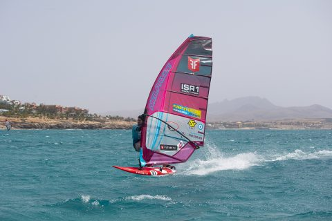 Click to Enlarge - Arnon flying in Fuerteventura