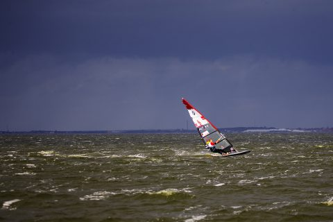 Click to Enlarge - Stormy skies in Denmark