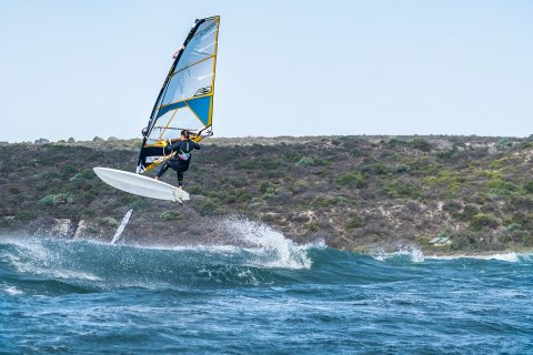 Click to Enlarge - Justyna training in West Oz.  Photo Two Goat Media.