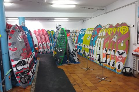 Click to Enlarge - Boards galore to rent!