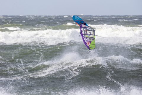 Click to Enlarge - Wild conditions in Sylt