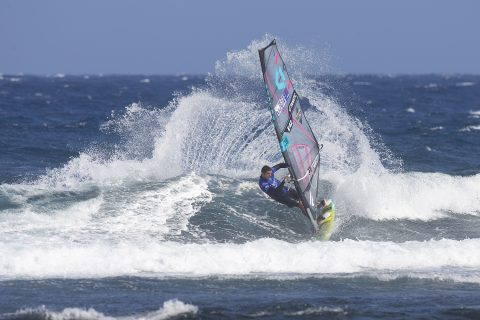 Click to Enlarge - Victor Fernandez ripping Tenerife