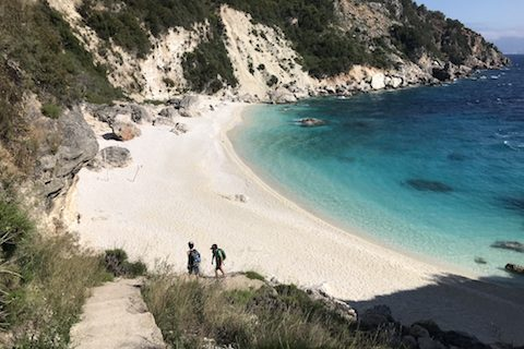 Beautiful Agiofili Beach near Vassiliki