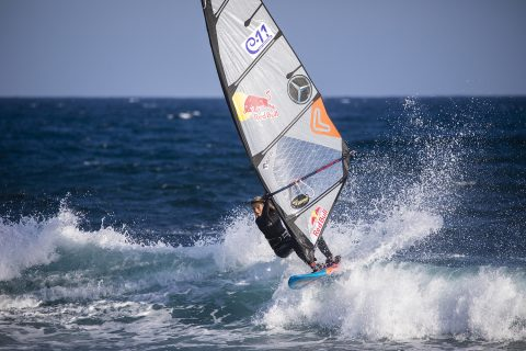 Liam Dunkerbeck in action. Photo : Gines Diaz/Red Bull Content Pool