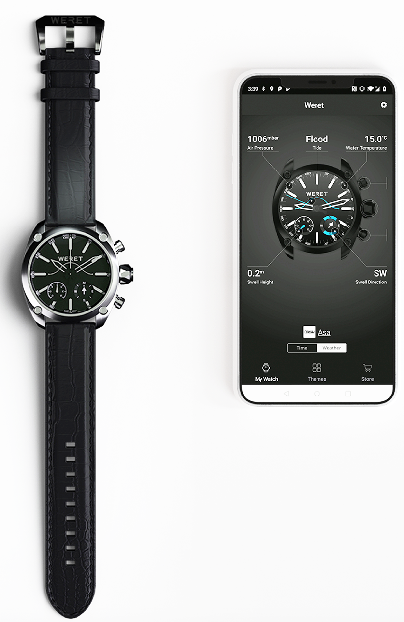 WERET Weather Smart Watch App(1)