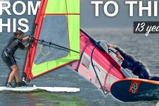 FROM BEGINNER TO PRO WINDSURFER: NICO PRIEN