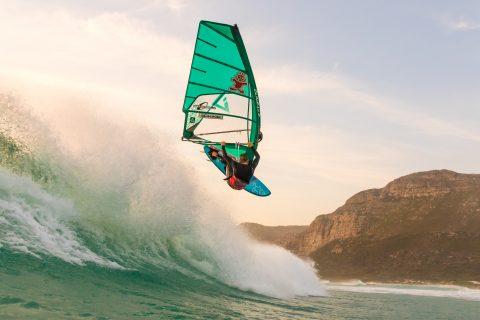 Flo Jung, Cape Town action Photo: Samuel Tome