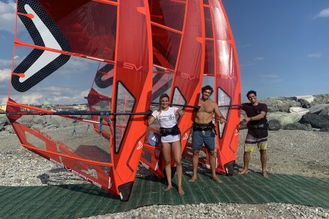 Blanca, Matteo and Kurosh Kiani