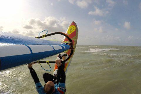 Simon Basset flying at his home spot!