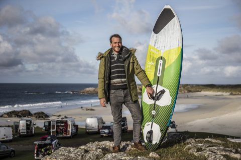 James Cox in Tiree