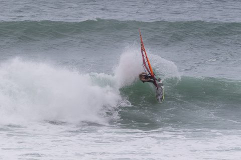 Blacky ripping at Gwithian