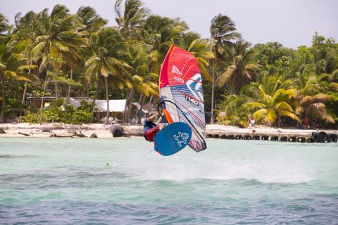 Having fun in Guadeloupe