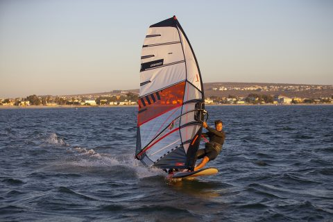 Slalom action in South Africa
