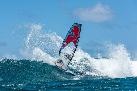 Slash off the lip in Hawaii