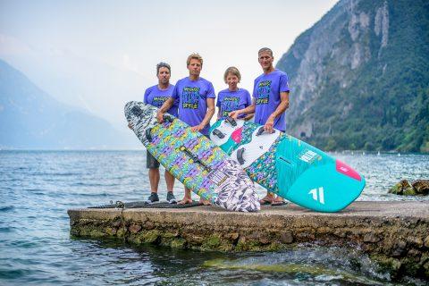 Fanatic crew in Lake Garda