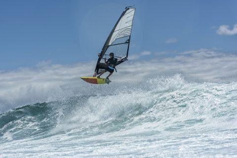 Zachary flying at Hookipa!