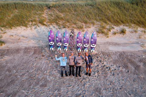 Fanatic team in Denmark