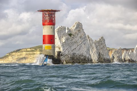 Action at the Needles!