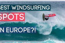 BEST WINDSURFING SPOTS IN EUROPE: FEDERICO MORISIO