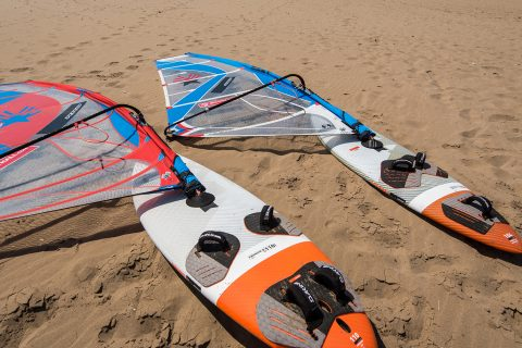 6.5 and 5.8 are interchangeable on both freemove 110 and FSW 104 boards and are an option in Jem's recommended 3 / 2 Minimum quiver. Photo by Eye Sea You.